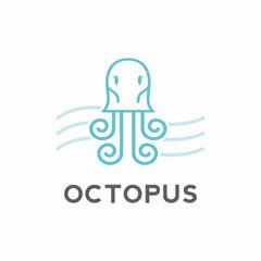 Octopus Logo Design Concept Creative
