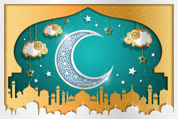 Islamic holiday background design