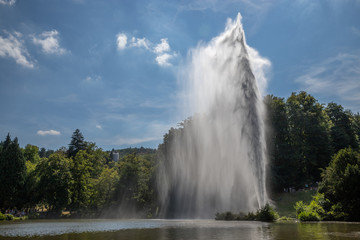 Fontaine im Bergpark in Kassel
