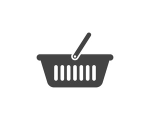 Basket vector icon