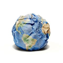 Earth junk paper