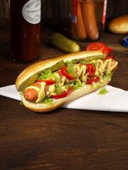 Hot Dog - Chicago Style