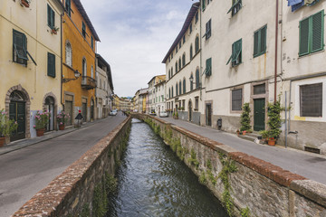 Lucca city. Tuscany. Italian landscape