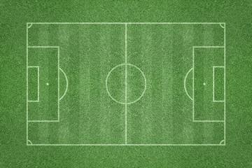 Green Soccer Football Grass Playing Field
