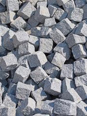 Granitsteine, Pflastersteine