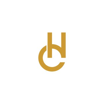 CH letter initial logo.