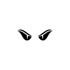Viper eye vector.