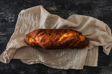 Fototapete - French bread ready to eat