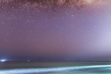 Milky Way Night Sky Background.