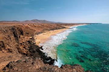 Plage Fuerteventura iles canaries