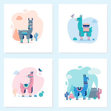 Perfect for posters, stickers, greeting cards, notebooks and other childish accessories.