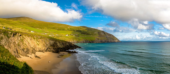 Ryan's Daughter Beach in Dingle Peninsula, Ireland, Co. Kerry.