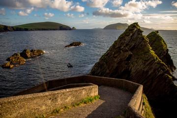 Slea Head Drive in County Kerry, Ireland.