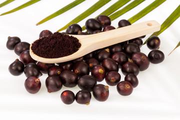 Fruit and acai powder - Euterpe oleracea