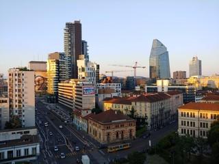 Milano in costruzione