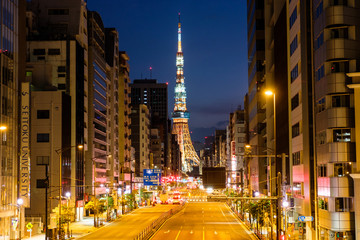 Poster New York TAXI 東京タワー
