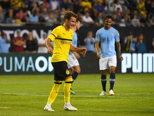 Soccer: International Champions Cup-Manchester City at Borussia Dortmund