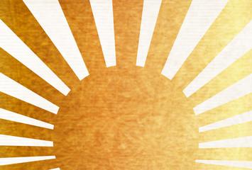 日の出 年賀状 和紙 背景