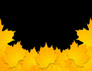 Happy Halloween background. vector