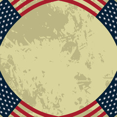 Grunge American Style Background