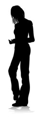 Young Person Silhouette