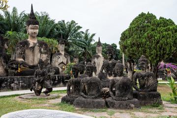 Laos - Buddha Park in Vientiane