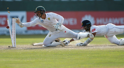 Cricket - Sri Lanka v South Africa - Second Test Match - Colombo, Sri Lanka