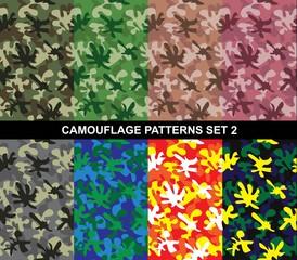 Camouflage Patterns Set 2 - Splash Camouflage