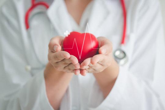 Medical heart cardiology concept