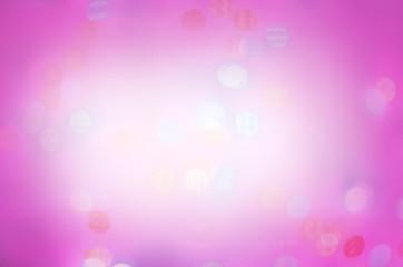 Soft violet bokeh background