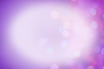 Violet abstract bokeh background.