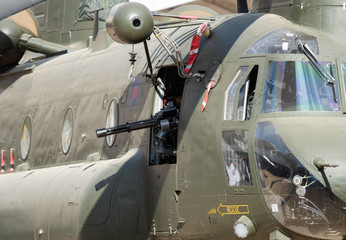 Boeing CH-47 Chinook close-up