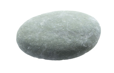 Old stone isolated on white background
