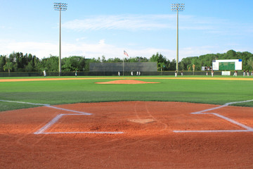 Ballparks and Baseball Fields