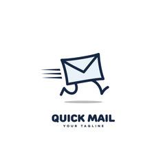 Quick mail logo