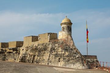 Castillo de San Felipe de Barajas, Cartagena, Colombia Fototapete