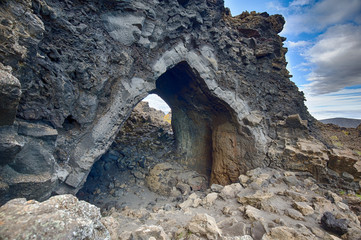 Dimmuborgir, The Church, Iceland