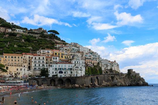 Amalfi, Italy on the Amalfi Coast