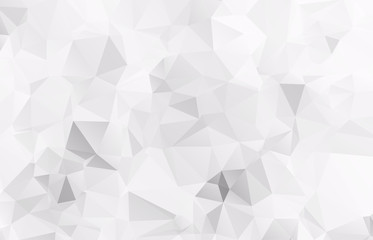 Abstract Light gray mosaic background