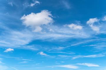 初夏の青空と雲3