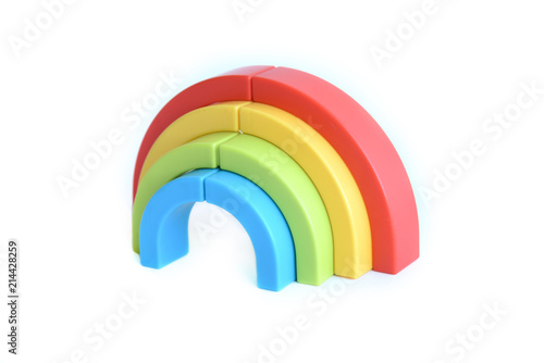 3d colorful rainbow marker pen toy