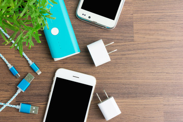USB charging cables for smartphone and tablet
