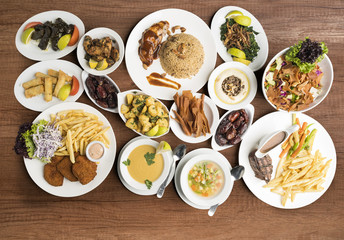 Traditional dishes, Traditional Ramadan food.