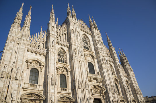 Duomo cathedral in Milan, Lombardy, Italy
