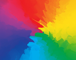 Abstract fun party backdrop multicolored rainbow background