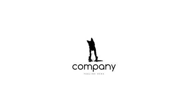 Pet care vector logo