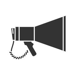 Megaphone glyph icon