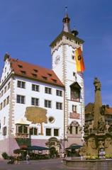 Romantische Strasse - Altes Rathaus in Würzburg