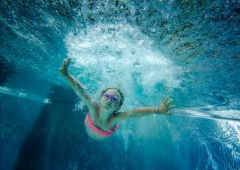 schwimmen wie ein Fisch im Wasser