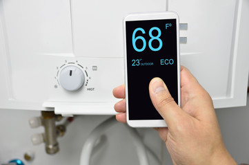 home automation for heating